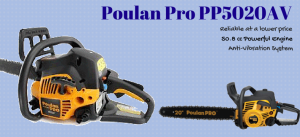 poulan pro chainsaw review