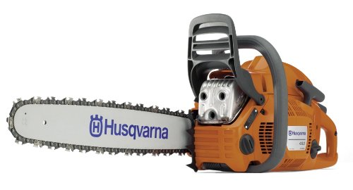 Husqvarna 460 Rancher gas powered chain saw review