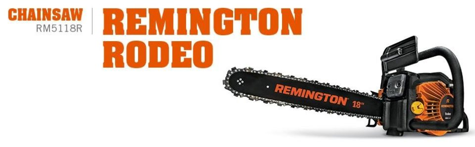 Remington Rodeo gas powered chain saw reviews