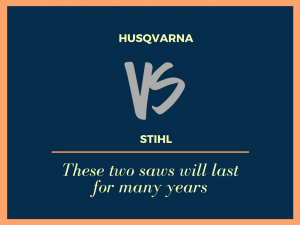 Husqvarna vs Stihl chainsaw