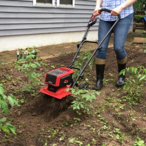 rototiller grass removal