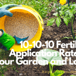 How To Apply 10-10-10 Fertilizer