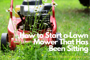 How to Start a Lawn Mower That Has Been Sitting