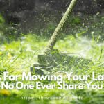 tips for lawn mowing