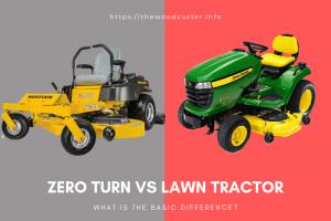 Zero Turn vs Lawn Tractor
